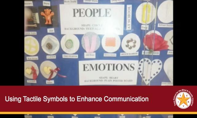 Using Tactile Symbols to Enhance Communication