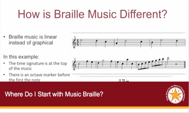 Where Do I Start with Music Braille?