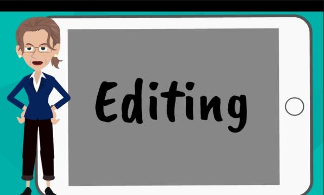 Video 14: Editing | Length 12:02 |