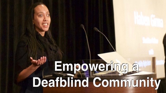 Empowering a Deafblind Community