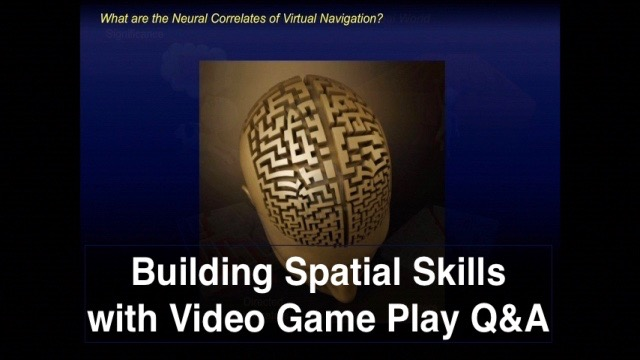 Building Spatial Skills through Video Game Play Q&A