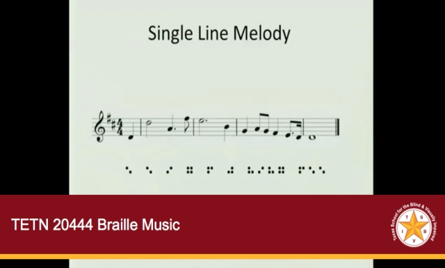 TETN 20444 Braille Music