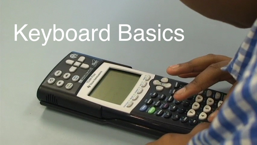 APH Orion TI-84 plus: Keyboard Basics