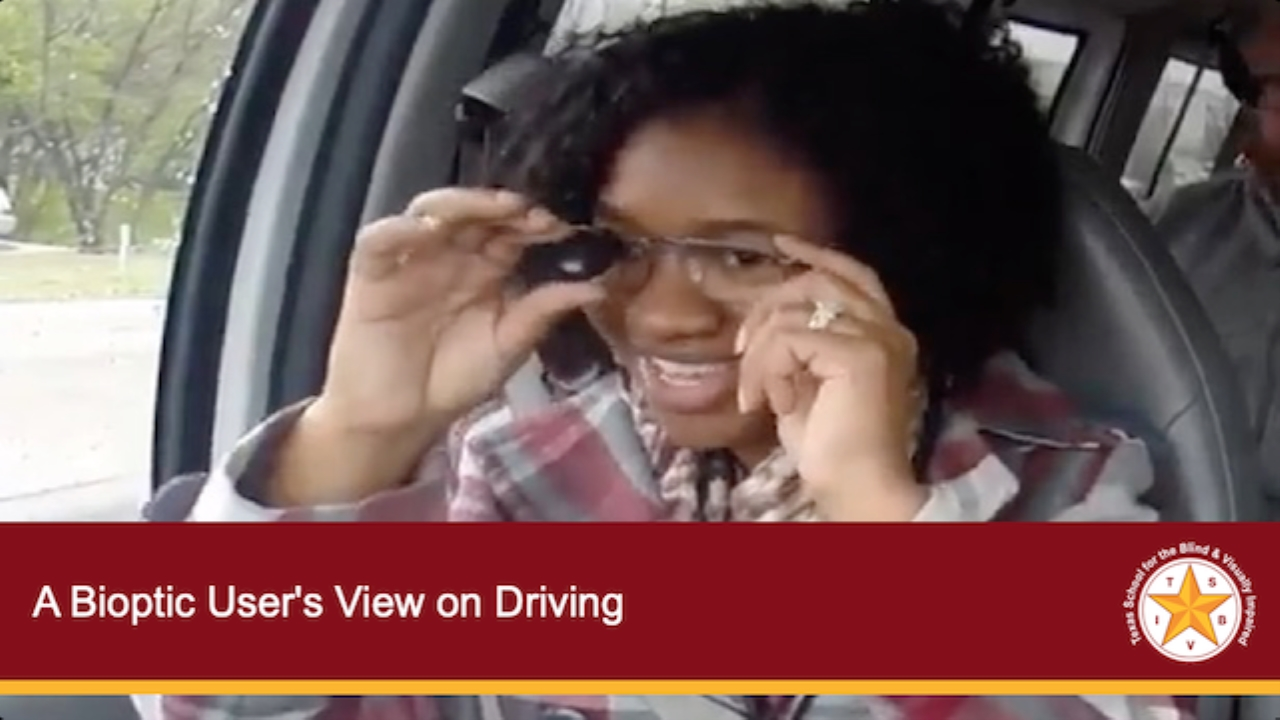 A Bioptic User's View on Driving